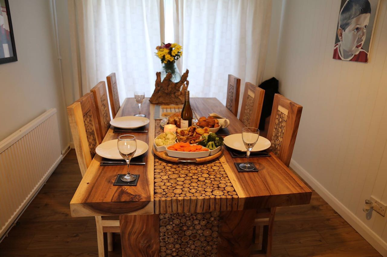 Solid Wood Dining Tables Solid Wood Tables Uk